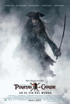 Poster Piratas del Caribe 3: En el Fin del Mundo